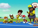 Paw Patrol Basketball Puzzle