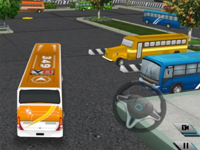Bus Parking 3D World 2