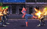Spider Hero Street Fight