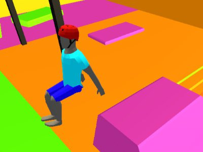 Backflip Dive 3D