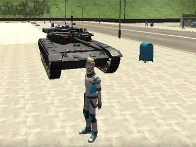Cars Thief 2: Tank Edition