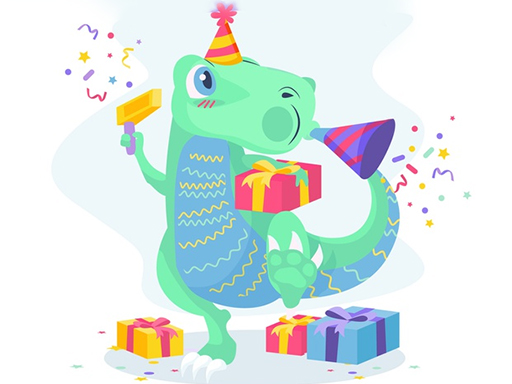 Dino Party Jigsaw